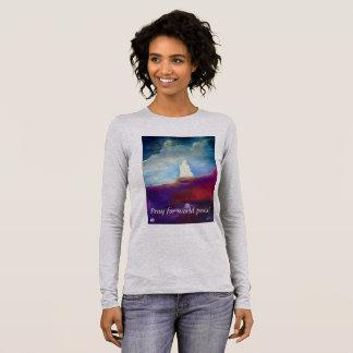 Spiritual Art T: Pray for world peace! Long Sleeve T-Shirt