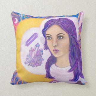 Spiritual Awakening Throw Cushion