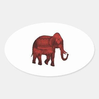 Spiritual Blessing Oval Sticker