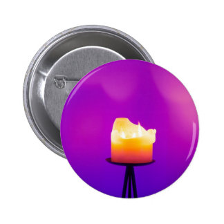 Spiritual Candle 2 Inch Round Button