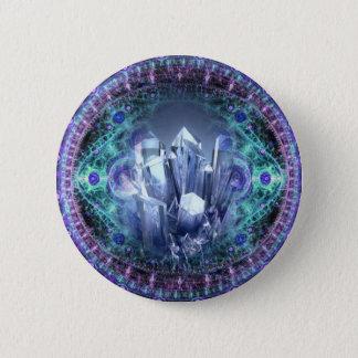 Spiritual Crystals 2 Inch Round Button