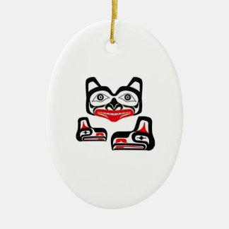 Spiritual Enlightment Ceramic Ornament