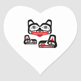 Spiritual Enlightment Heart Sticker