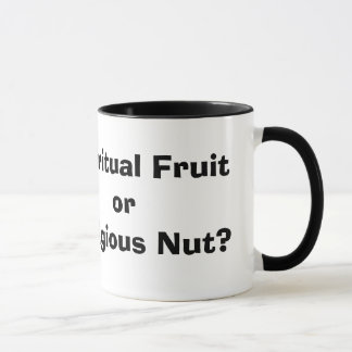 Spiritual Fruit or Religious Nut? Mug