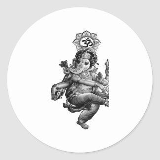Spiritual Guidance Classic Round Sticker