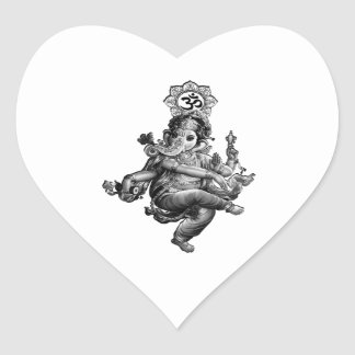 Spiritual Guidance Heart Sticker