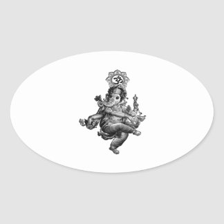 Spiritual Guidance Oval Sticker