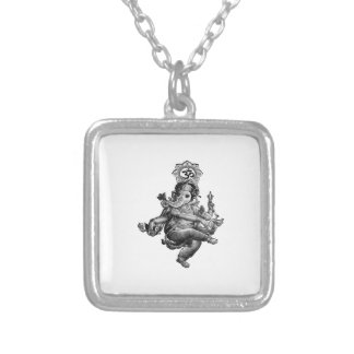 Spiritual Guidance Silver Plated Necklace