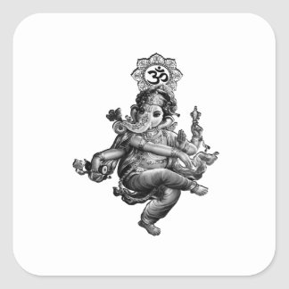 Spiritual Guidance Square Sticker