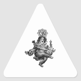 Spiritual Guidance Triangle Sticker