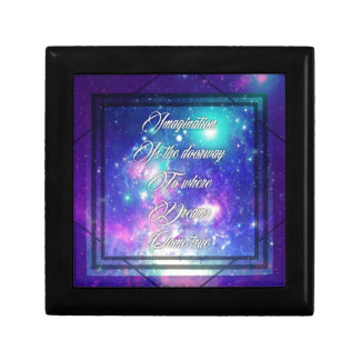 Spiritual Inspirational Dreams Come True Quote Keepsake Boxes