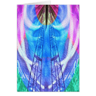 Spiritual Journey - HIS words provide LADDER Greeting Card
