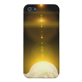 Spiritual light in cupped hands case for iPhone 5/5S