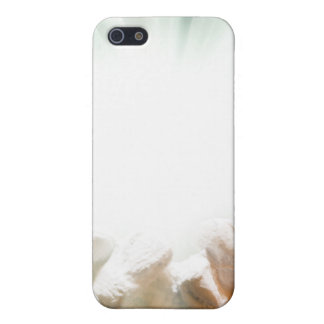 Spiritual light in cupped hands iPhone 5 cases