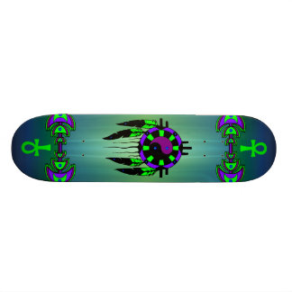 Spiritual Magic Skateboard - Customized