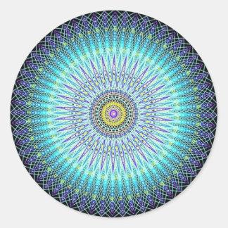 Spiritual Mandala Gifts Classic Round Sticker