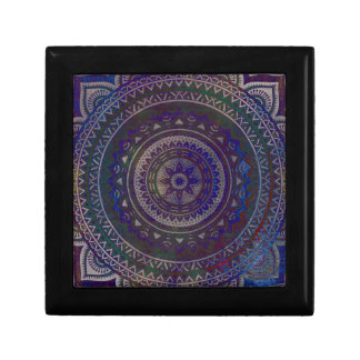 Spiritual mandala jewelry box