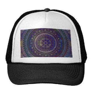 Spiritual mandala trucker hat