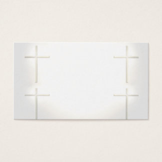 Spiritual Marriage Wedding Cross Business Cards