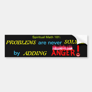 spiritual math 101-23b bumper sticker
