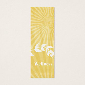 Spiritual  Meditation Coach Mini Business Card