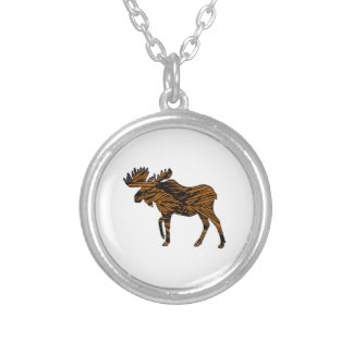 Spiritual Movement Silver Plated Necklace