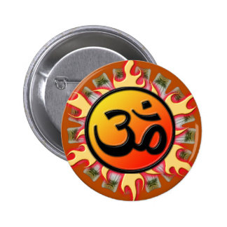 Spiritual Om Button