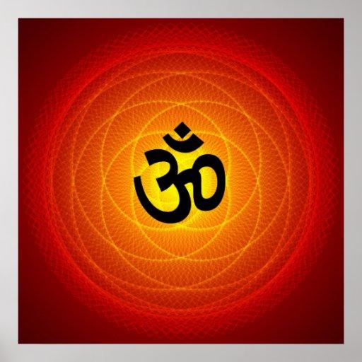 Spiritual Om Print