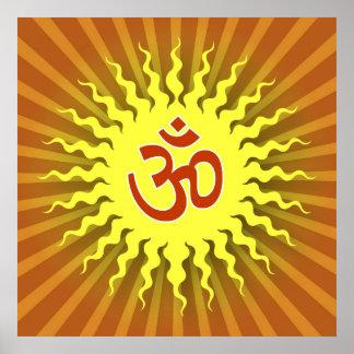 Spiritual Om Symbol Posters