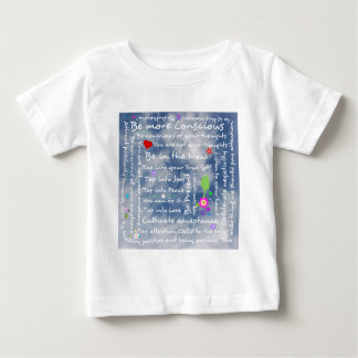 Spiritual positive affirmations baby T-Shirt