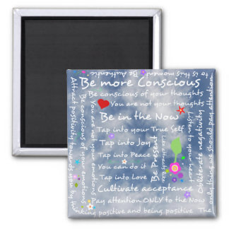 Spiritual positive affirmations magnet
