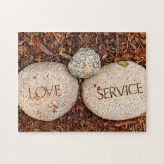 Spiritual Religious Stone Jigsaw Puzzle