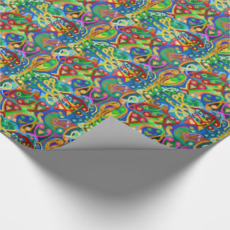 SPIRITUAL SPIRIT SPERMS DANCE FINEART GIFTS WRAPPING PAPER