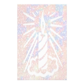 Spiritual:  Spreading the Light V2 Stationery