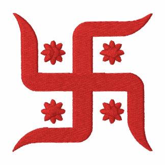 Spiritual Swastika Design Polos