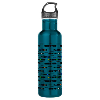 Spiritual Warfare CHRISTIAN SOLDIER Prayer 710 Ml Water Bottle