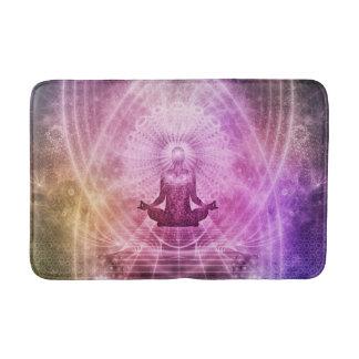 Spiritual Yoga Meditation Zen Colorful Bath Mat
