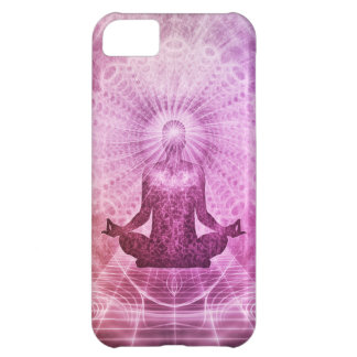 Spiritual Yoga Meditation Zen Colorful Case For iPhone 5C