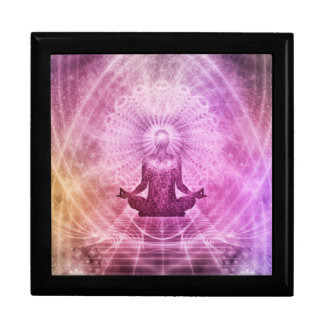Spiritual Yoga Meditation Zen Colorful Gift Box