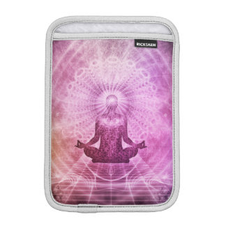 Spiritual Yoga Meditation Zen Colorful iPad Mini Sleeve