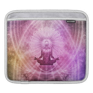Spiritual Yoga Meditation Zen Colorful iPad Sleeve