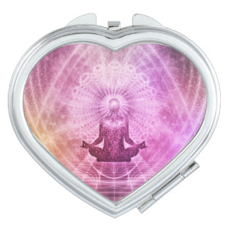 Spiritual Yoga Meditation Zen Colorful Vanity Mirrors
