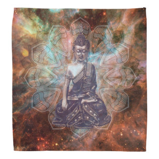 Spiritual Zen Buddha  Bandanna