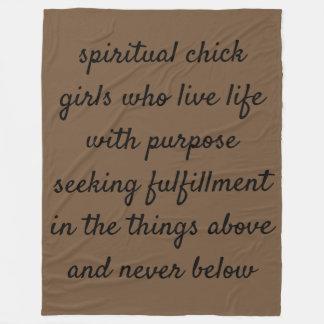 SpiritualChick Blanket