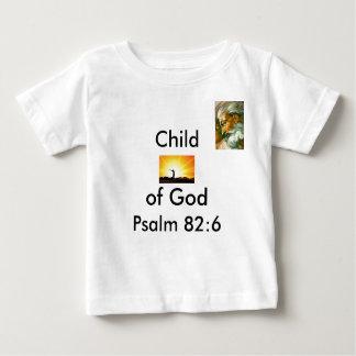 SPIRITUALITY, GOD2, Child, of God, Psalm 82:6 Baby T-Shirt
