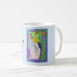 Spiritually is finding the truth in you. coffee mug