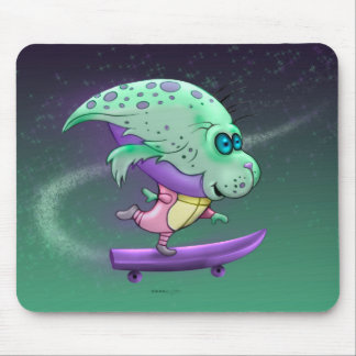 SPIRO CUTE ALIEN CARTOON MOUSE PAD