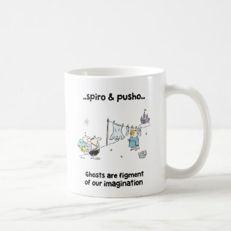Spiro & Pusho Ghosts Quotes Cartoons Mug