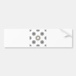 spirograph-multiple-shapes3-35 bumper sticker