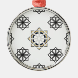 spirograph-multiple-shapes3-35 metal ornament